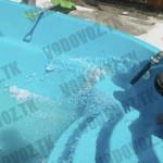 вода в бассейн