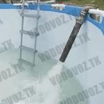 доставляем воду в бассейн